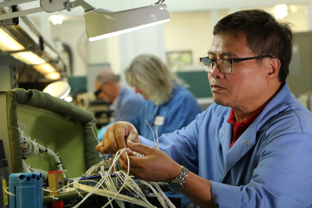 Engineer wiring equipment