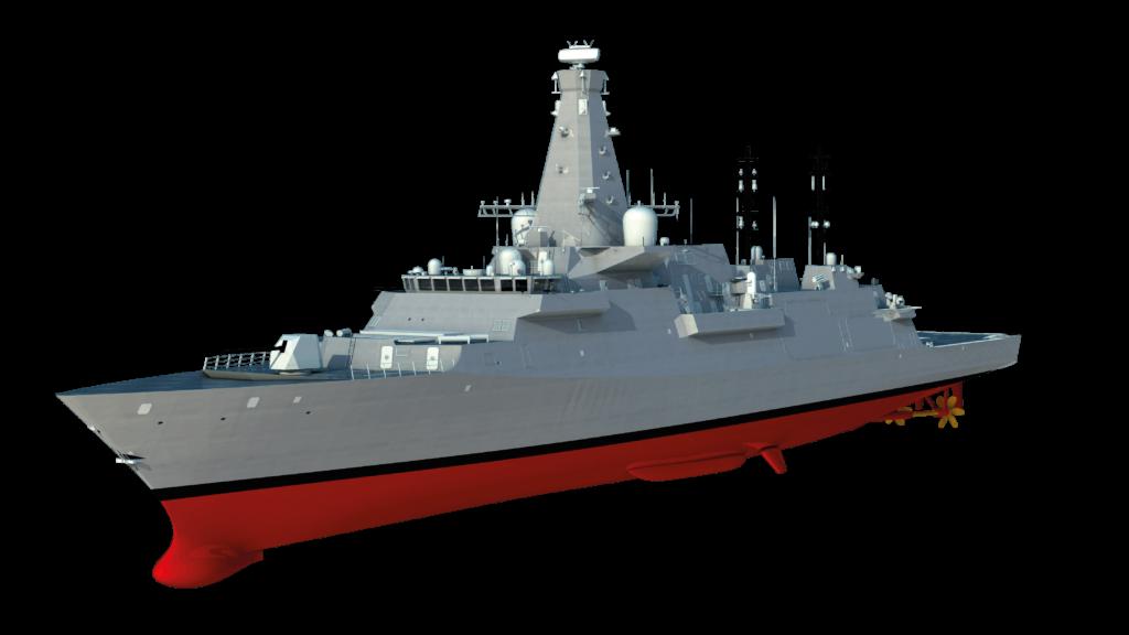 Type 26 masts