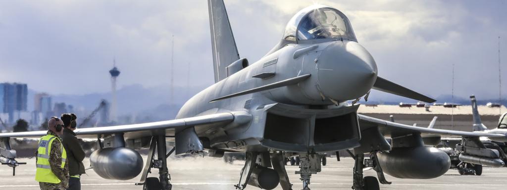 RAF Typhoon fighter