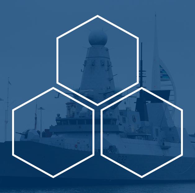 HMS Daring Type 45 Destroyer