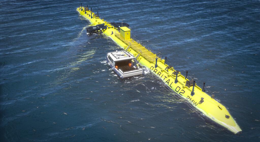 Orbital Marine O2 Tidal Turbine