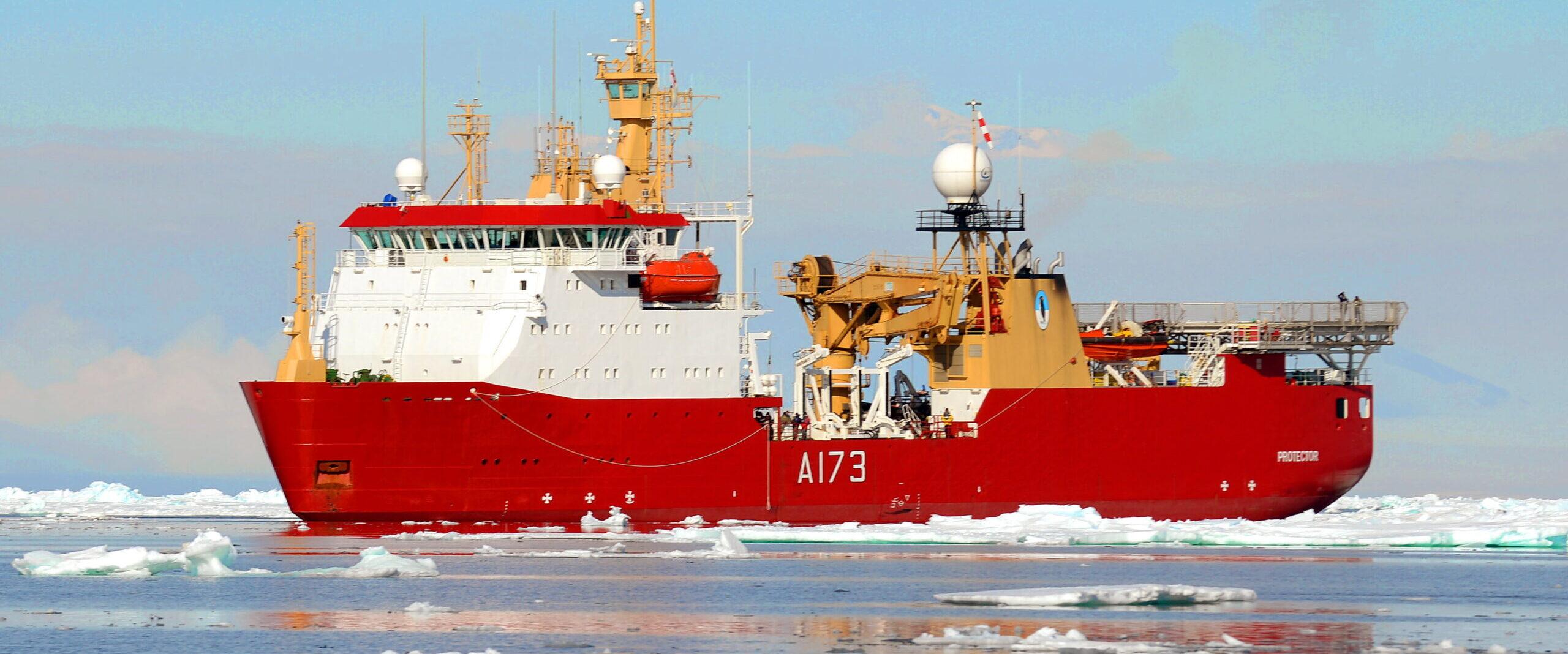 HMS Protector